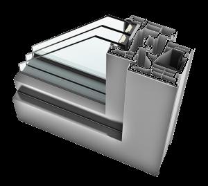 PVC aluminij prozori - KV 440 home soft - Hoco Stabil