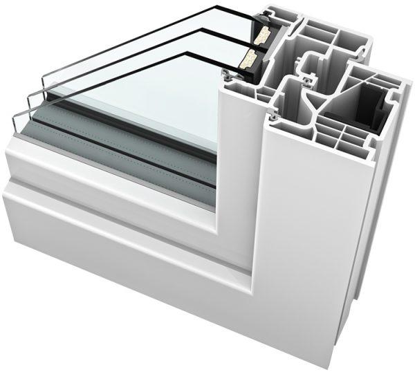 PVC aluminij prozori - KV 350 ambiente - Hoco Stabil